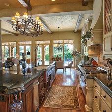 Mediterranean Kitchen by Dynamic Capital LLC