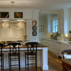 Traditional Kitchen by Hope Beckman Design
