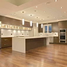 Contemporary Kitchen by Marble Construction