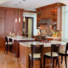 Transitional Kitchen by Reddington Designs