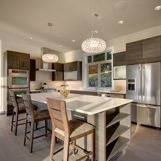 Contemporary Kitchen by Scott Donogh Homes