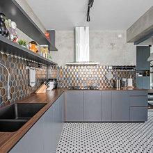Kitchen Tour: Cookspace Puts a Glam Spin on Industrial Style