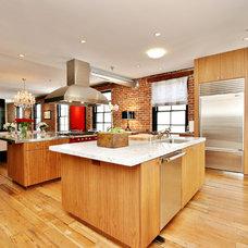 Industrial Kitchen by Todd Davis Architecture