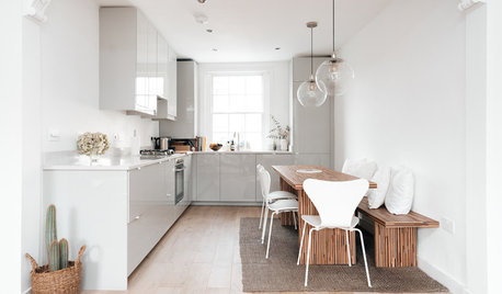 Houzz Tour: Simple Finishes Highlight a Flat's Period Character