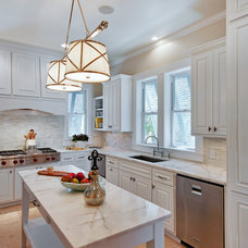 Transitional Kitchen by Emerald Coast Real Estate Photography