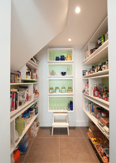 10 contemporary pantry or larder ideas for How to build a walk in pantry