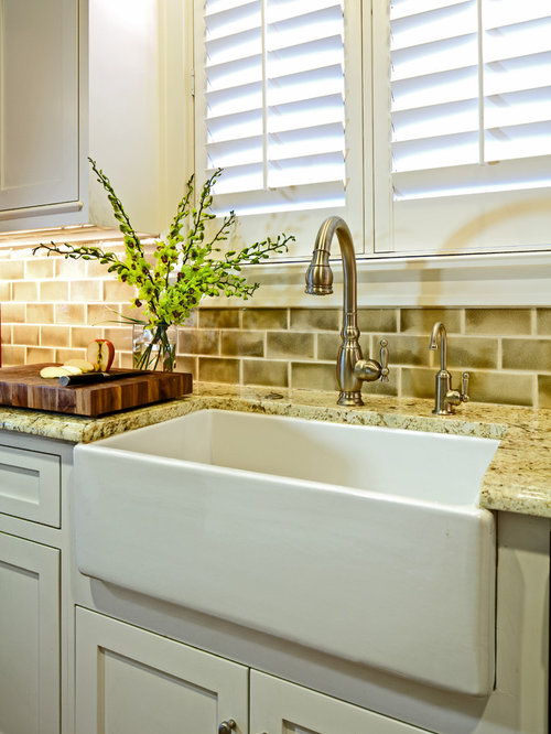 inspiration for a timeless kitchen remodel in austin with a farmhouse sink and granite countertops