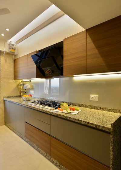 Contemporary Kitchen by Aum Architects