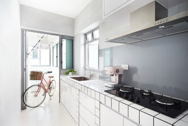 Scandinavian Kitchen by Free Space Intent