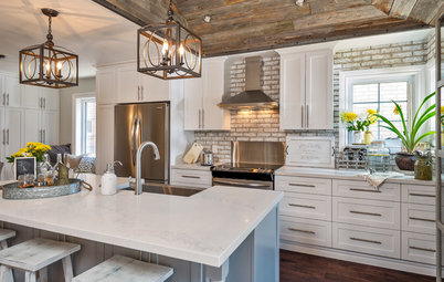 Kitchen of the Week: A Rustic-Chic Look They Can Call Their Own