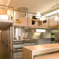 Industrial Kitchen by Alan John Marsh Design & Photography