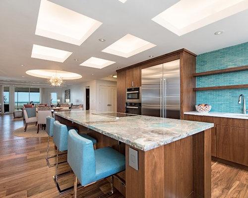 Contemporary open concept kitchen photos open concept kitchen contemporary dark wood floor open concept