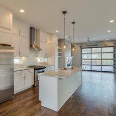 Midcentury Kitchen by Aerial Development Group
