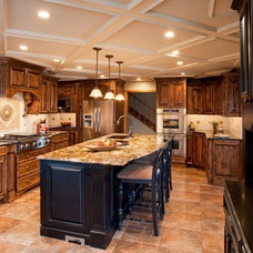 Traditional Kitchen by Keystone Building and Design, LLC