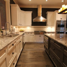 Traditional Kitchen by GM Drafting & Design Inc.