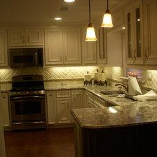 Traditional Kitchen by MRK Design