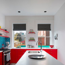 Eclectic Kitchen by mossArchitects