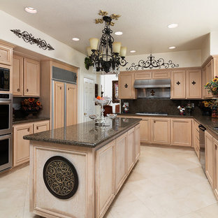 75 most popular kitchen with granite countertops design ideas for