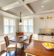 traditional kitchen by Redbud Custom Homes