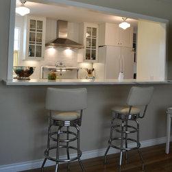 Traditional Sacramento Kitchen Pass Through Kitchen Design