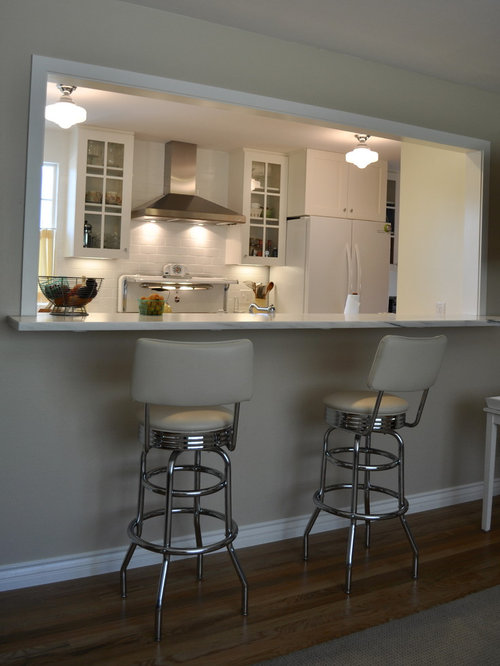 Diner Bar Stools Ideas Pictures Remodel and Decor : 58d14fa6002135ea4151 w500 h666 b0 p0 traditional kitchen from www.houzz.com size 500 x 666 jpeg 36kB