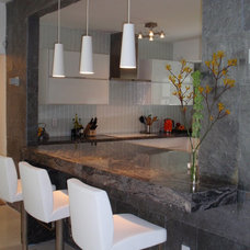 Contemporary Kitchen by Stol construction corp