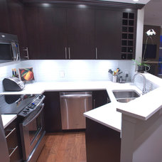 Modern Kitchen by Twin Lions Contracting Ltd.