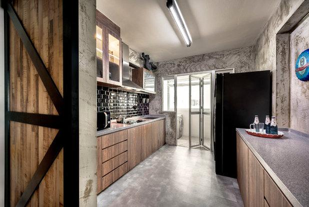 Industrial Kitchen by ArtDecor