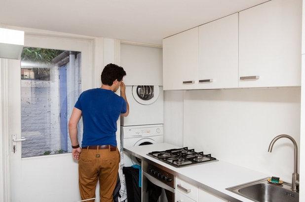 Mimetismi 10 modi ingegnosi di nascondere la lavatrice - Lavatrice cucina ...