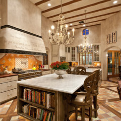 mediterranean kitchen by BedBrock Developers, LLC