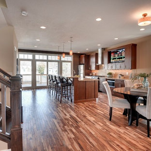 Inspiration for a craftsman kitchen remodel in Minneapolis