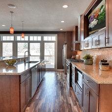 Craftsman Kitchen by Sustainable Nine Design + Build
