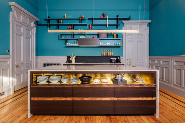 Contemporary Kitchen by Paul T Cowan Photography