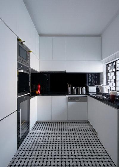 コンテンポラリー キッチン by SOLID architects
