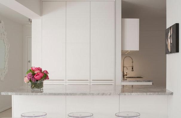 Contemporary Kitchen by Glickman Schlesinger Architects