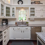 island in a small kitchen kitchens traditional kitchen seattle by mccarthy 7596