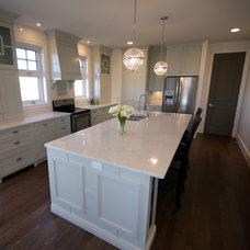 Contemporary Kitchen by Lisa Clark Design