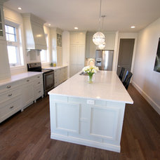 Traditional Kitchen by Lisa Clark Design