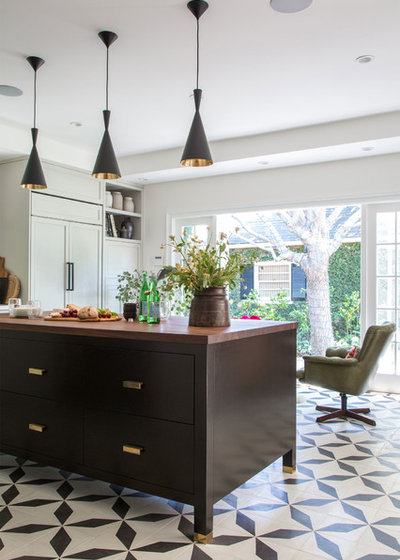 Transitional Kitchen by Cinergy Construction