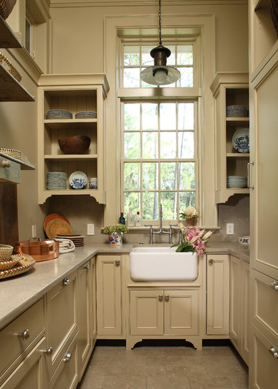 American Traditional Kitchen by Byrd Builders, Inc.