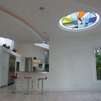 The Bauhaus Living Space Contemporary Living Room