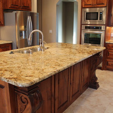 Traditional Kitchen by Douglas Custom Homes