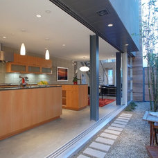Contemporary Kitchen by Western Window Systems
