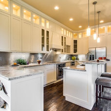 Transitional Kitchen by Steele Consulting Group
