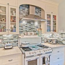 Eclectic Kitchen by McCaffrey Custom Construction, Inc.