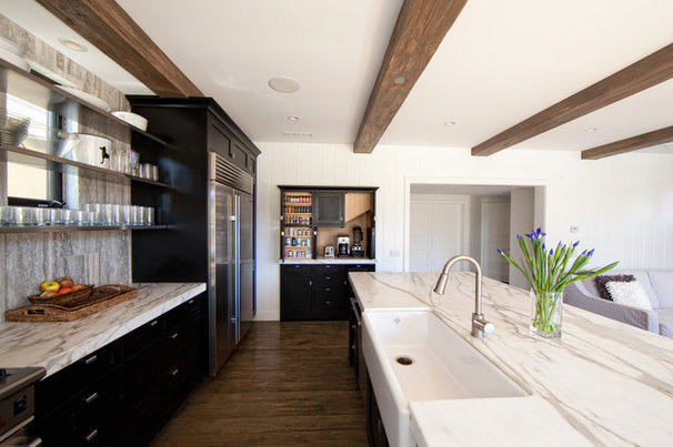 Contemporary Kitchen by William Guidero Planning and Design