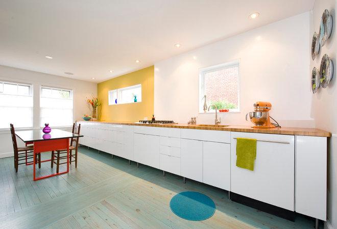 Contemporary Kitchen by E/L STUDIO