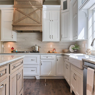 kitchen tile countertop range cover houzz 3249