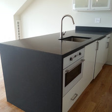 Contemporary Kitchen by Living Stone Granite