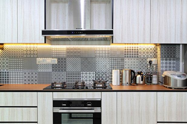 北欧 キッチン by Luova Project Services